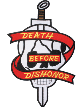 N-407 Death Before Dishonor Patch 9 1/5