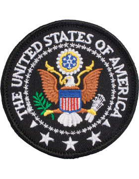 N-413 The United States Of American Seal Patch 3in