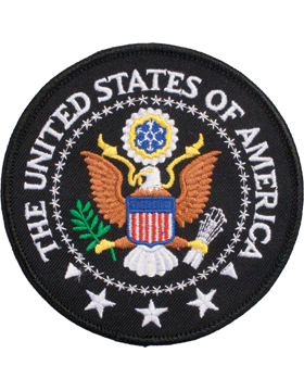 N-414 The United States Of American Seal Patch 4in