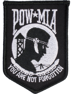 N-415 American Prisoner Of War (POW)/Missing In Action (MIA) of Vietnam Patch 4i