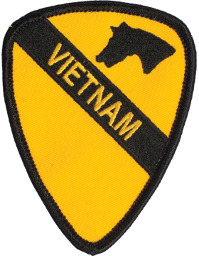 N-479 1 Cavalry Vietnam Patch 3 1/2in
