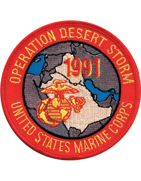 N-494 Desert Storm Veteran Patch