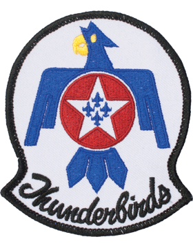N-508 Thunderbirds Patch 4in