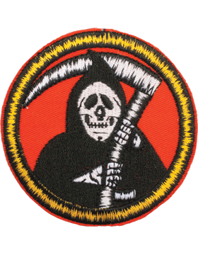 N-511 Grim Reaper Round Patch 3in