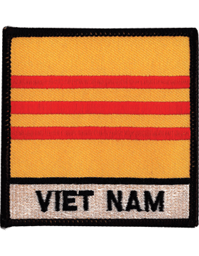 N-517 Vietnam Flag Square Patch
