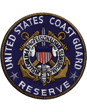 N-CG001 United States Coast Guard Reserve Patch