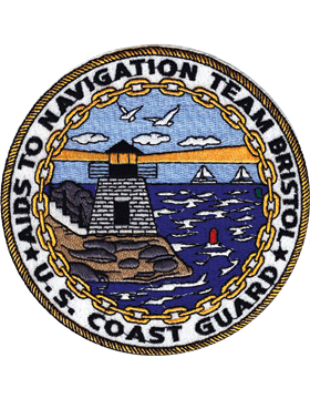 N-CG006 United States Coast Guard Station Navigation Team Bristol Patch