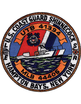 N-CG007 United States Coast Guard Station Hampton Bays New York Patch