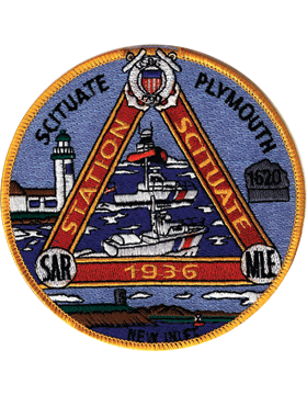 N-CG011 United States Coast Guard Station Scituate Plymouth Patch