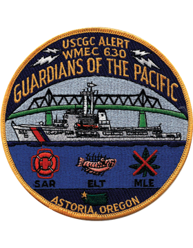 N-CG012 United States Coast Guard Station Astoria Oregon Patch