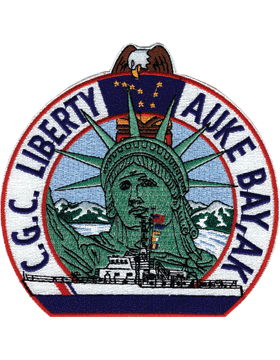N-CG015 United States Coast Guard Station Liberty Auke Bay Alaska Patch