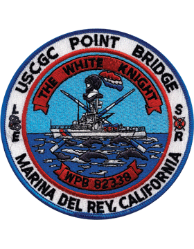 N-CG018 United States Coast Guard Station Del Rey California Patch small