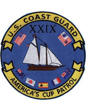 N-CG021 United States Coast Guard Station America's Cup Patrol Patch