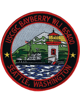 N-CG025 United States Coast Guard Station Seattle Washington Patch