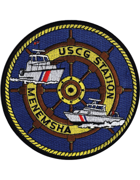N-CG026 United States Coast Guard Station Menemsha Patch