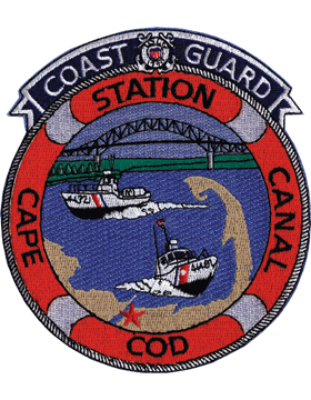 N-CG029 United States Coast Guard Cape Cod Patch