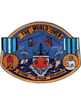 N-CG030 United States Coast Guard Polar Exploration Patch small