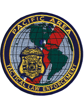 N-CG031 United States Coast Guard Pacific Area Tactical Law Enforment Patch