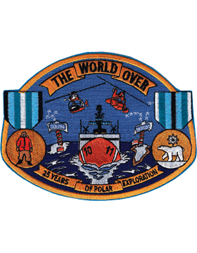 N-CG033 United States Coast Guard The World Over Patch