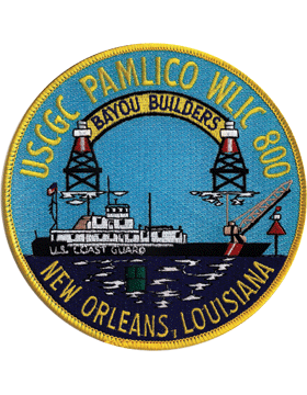 N-CG034 United States Coast Guard Station Pamlico WLIC Patch