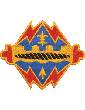 N-DUI-0017 17 Field Artillery Brigade (No Motto) Patch with Heat Seal 3 1/2in