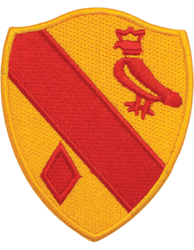 N-DUI-0019 19 Field Artillery (No Motto) Patch with Heat Seal 3 1/2in