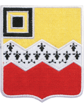 N-DUI-0080 80 Field Artillery (No Motto) Patch with Heat Seal 3 1/2in small