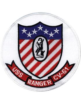 N-NY022 U.S.S. Ranger CV-61 Oval 5