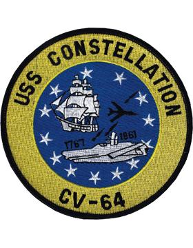 N-NY023 U.S.S. Constellation CV-64 Oval 5