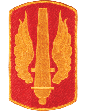 Organization 6in Patch 18 Field Artillery Brigade with Heat Seal Full Color