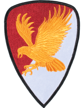 DISPLAY ORG PATCH/6in-0021B-F 21 CAV BDE COLOR with HEAT SEAL small