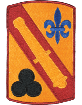 Organization 6in Patch 42 Field Artillery Brigade with Heat Seal Full Color