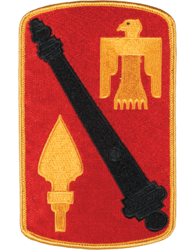 Organization 6in Patch 45 Field Artillery Brigade with Heat Seal Full Color