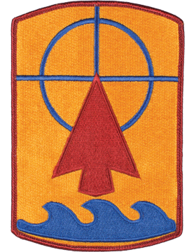 Organization 6in Patch 57 Field Artillery Brigade with Heat Seal Full Color