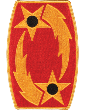 DISPLAY ORG PATCH/6in-0069A-F 69TH ADA COLOR with HEAT SEAL