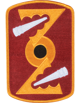 Organization 6in Patch 72 Field Artillery Brigade with Heat Seal Full Color