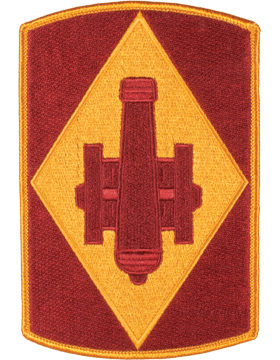 Organization 6in Patch 75 Field Artillery Brigade with Heat Seal Full Color