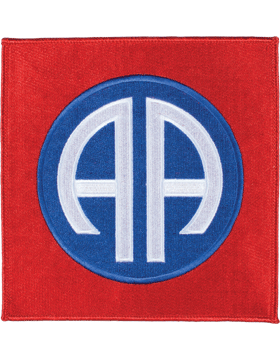 Organization 6in Patch 82 Airborne Division with Heat Seal Full Color