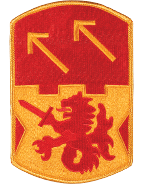 DISPLAY ORG PATCH/6in-0094A-F 94TH ADA COLOR with HEAT SEAL