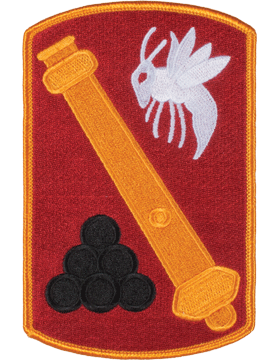 Organization 6in Patch 113 Field Artillery Brigade with Heat Seal Full Color