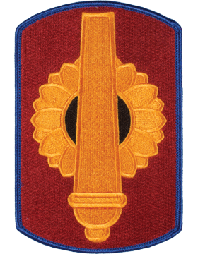Organization 6in Patch 130 Field Artillery Brigade with Heat Seal Full Color