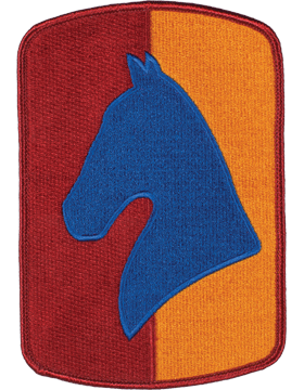 Organization 6in Patch 138 Field Artillery Brigade with Heat Seal Full Color