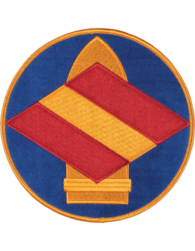 Organization 6in Patch 142 Field Artillery Brigade with Heat Seal Full Color