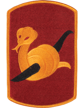 Organization 6in Patch 153 Field Artillery Brigade with Heat Seal Full Color