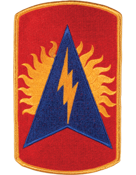 DISPLAY ORG PATCH/6in-0164A-F 164TH ADA COLOR with HEAT SEAL