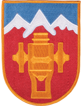 Organization 6in Patch 169 Field Artillery Brigade with Heat Seal Full Color