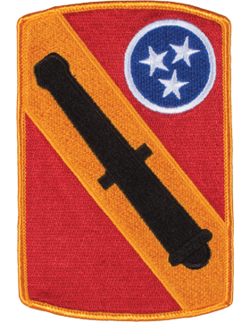 Organization 6in Patch 196 Field Artillery Brigade with Heat Seal Full Color