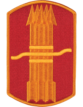 Organization 6in Patch 197 Field Artillery Brigade with Heat Seal Full Color