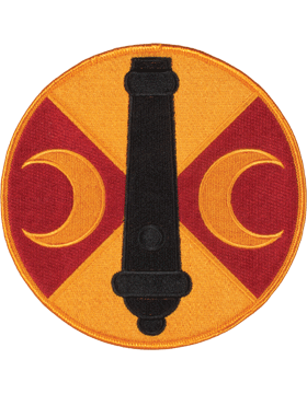DISPLAY ORG PATCH/6in-0210-F 210 FA BDE COLOR with HEAT SEAL