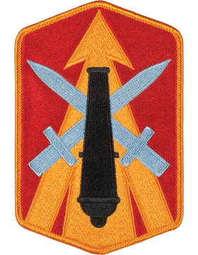 Organization 6in Patch 214 Field Artillery Brigade with Heat Seal Full Color